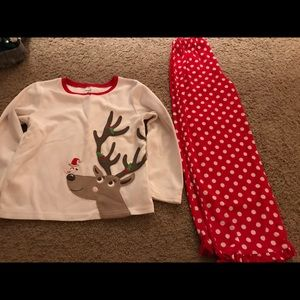 2 piece Reindeer Pajamas